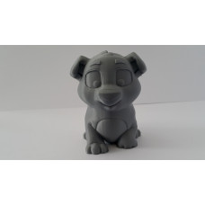 Dog Gray Color Toy